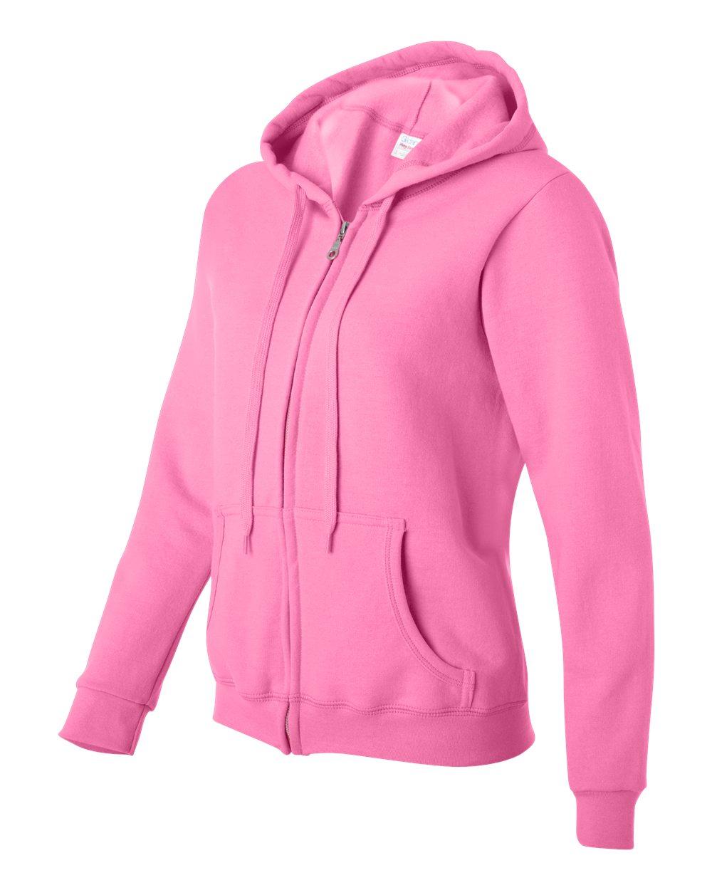 f59cb93ee01 Gildan – Heavy Blend Women s Full-Zip Hooded Sweatshirt – Goodwin ...